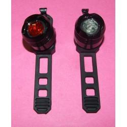 Lampe / Eclairage / Lumière LEDs Avant-Arrière 2 Fonctions