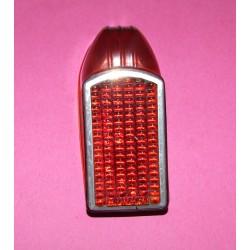 Cabochon de phare AR rouge Solex 1700, 2200, 3300 et 3800 (occasion)