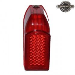 Cabochon de phare AR rouge Solex 3800 type origine