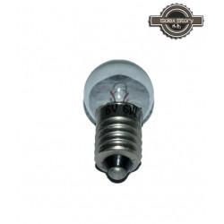 Ampoule à vis AV blanche 6V 6W
