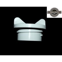Bouchon de réservoir plastique gris pour Solex 3800/Micron