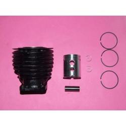 Kit cylindre à larges transferts et piston à jupe courte pour VéloSoleX