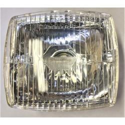 Optique de phare plastique carré pour Peugeot 103 / 104 / 105 / GL10