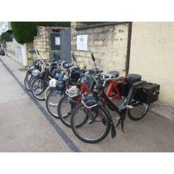 Location de VéloSoleX (réservation jusqu'à 14 personnes)