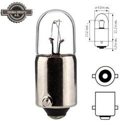 Ampoule Témoin 6v 4w (BA9S) pour éclairage arrière  Motobécane / Motoconfort / MBK / Peugeot
