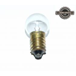 (NOS) Ampoule à vis 6 volts 1,8 watts blanche de feu arrière pour Motobécane / Motoconfort / MBK