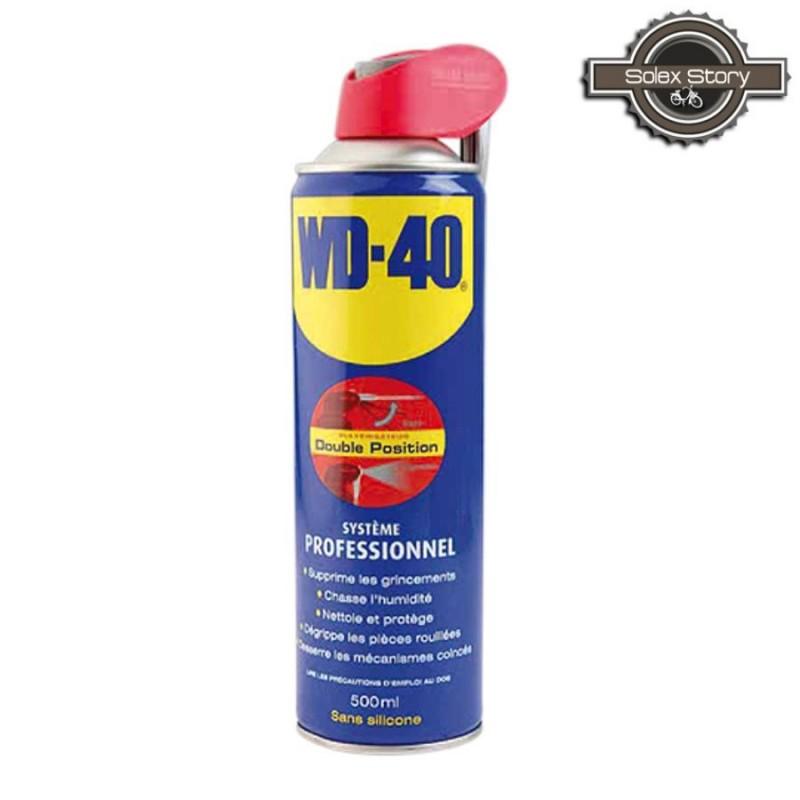 Aérosol dégrippant lubrifiant multifonctions - WD40 500 mL