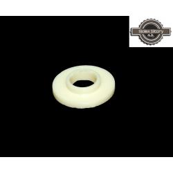 """Rondelle plastique blanche """"crème"""" de carter pour Motobécane /  Motoconfort  / MBK"""