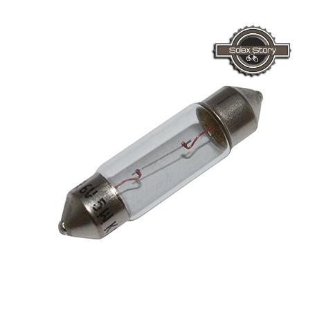 """Ampoule """"Navette"""" Lg.35mm / 6v 5w (VéloSolex...)"""