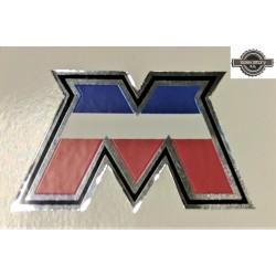 """Autocollant officiel """"M"""" Motobécane"""