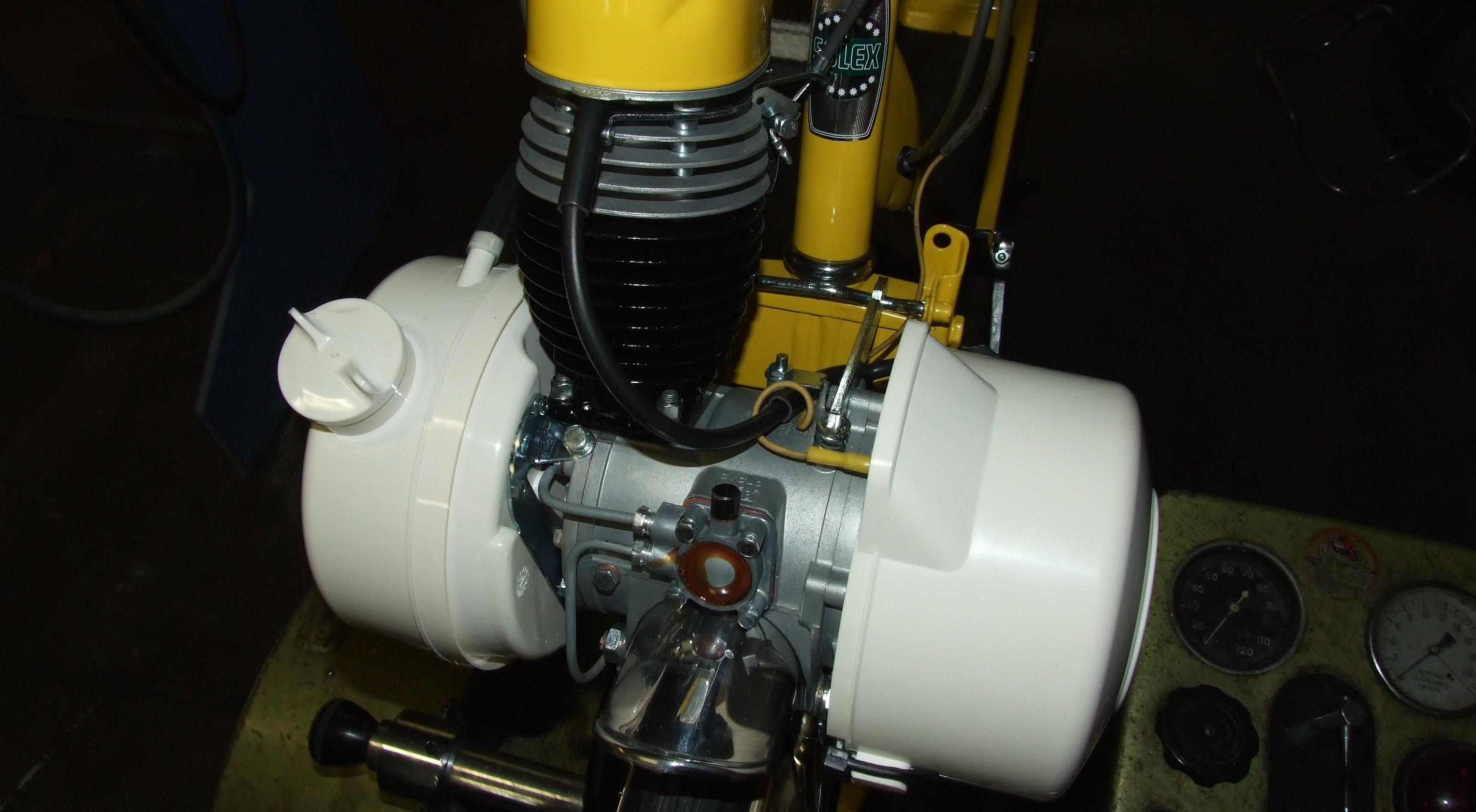 Restauration complète d'un moteur de VéloSoleX