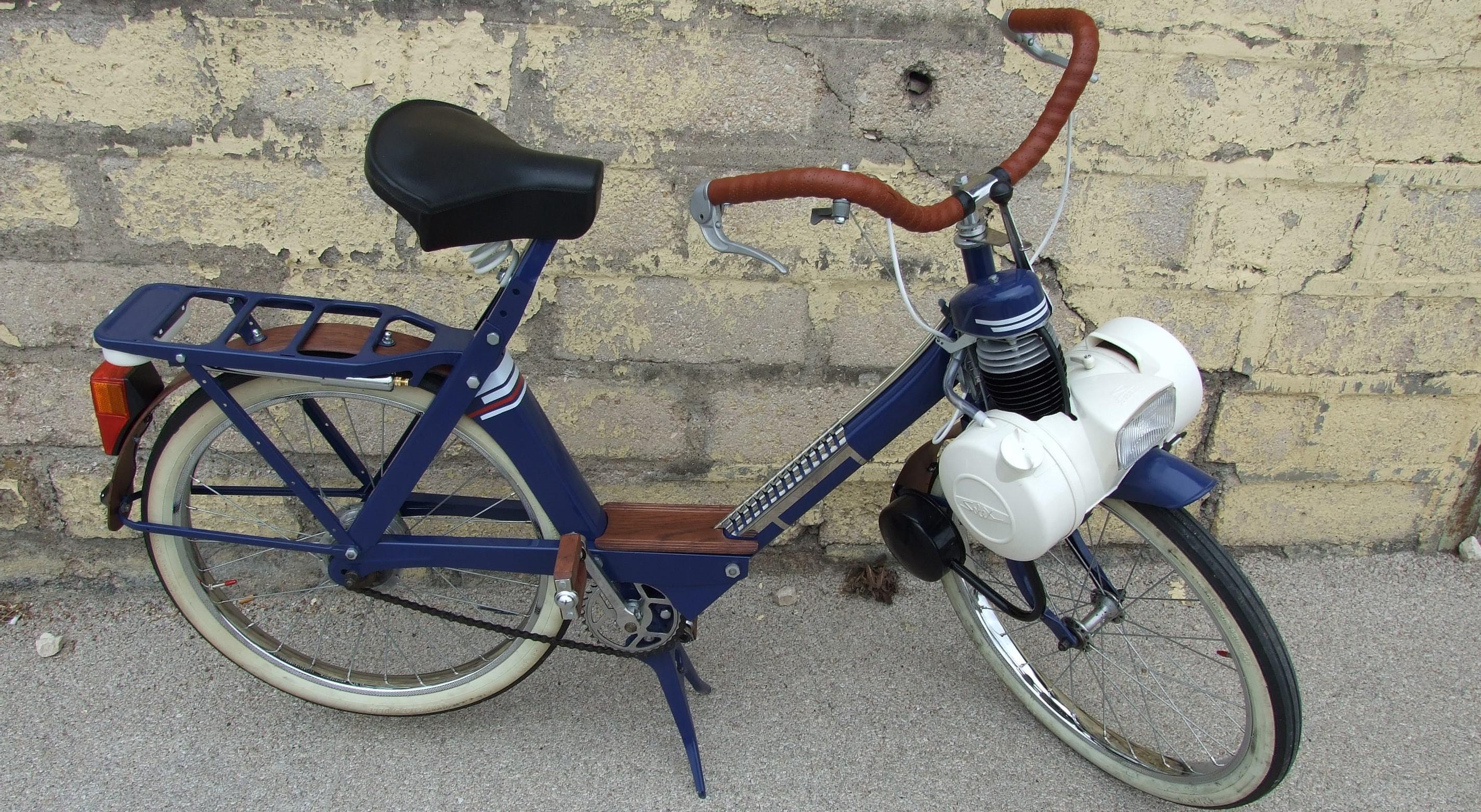 Restauration complète d'un VéloSoleX